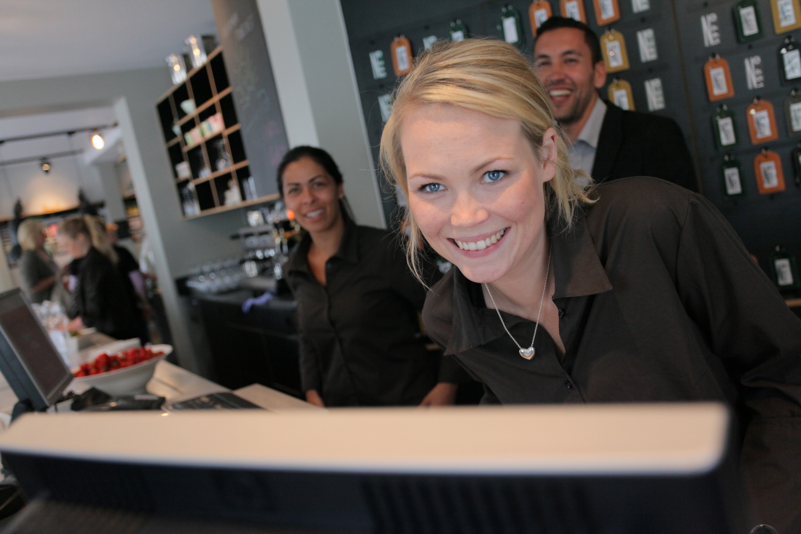 Ibsens Hotel  Smiling Front Office Staff